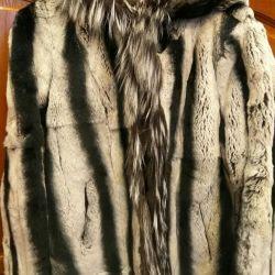 Fur of nat.meha rabbit