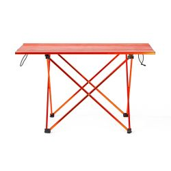 Aluminum camping folding table enlarged