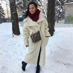 Eco fur coat to -25😍🌈🐑👇