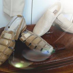Sho Pantofi Muzhskaya. Natur. piele. nou