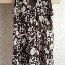 Dress summer female of chiffon 50 size