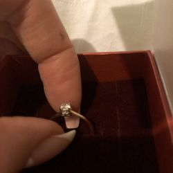 Ring with diamond ?