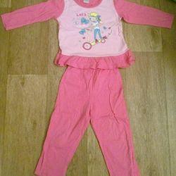 Pajamas for girls Cherubino 2 y