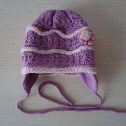 Pălărie demisecă (3 piese), soluție 46-48