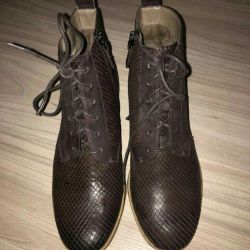 Esso μπότες φυσικό δέρμα