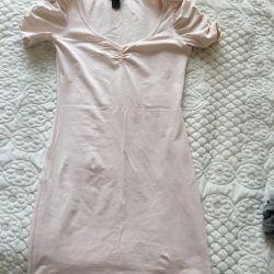 Ανοιχτό ροζ φόρεμα h & m