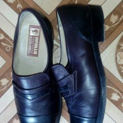Mens leather shoes 42 solution