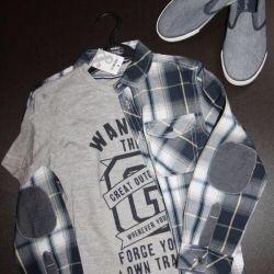 Shirt + T-shirt Nou Copii