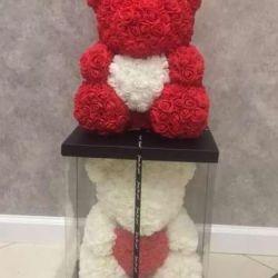 Bear of roses 40cm wholesale