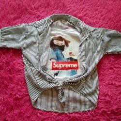 Supreme top shirt new
