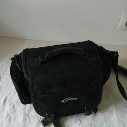 Case bag for camera, camera