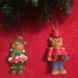 Christmas decorations bears