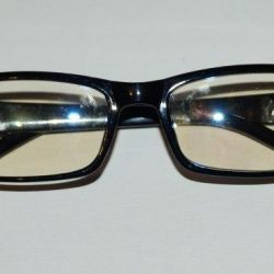 Glasses without diopters
