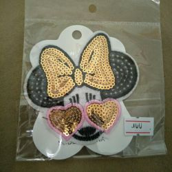 Brooch minnie mouse icon