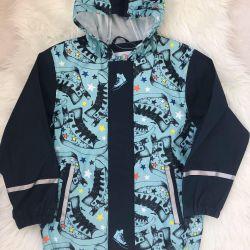 Новая куртка дождевик Lupilu