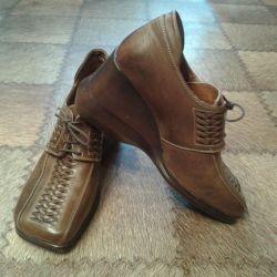 Καφέ παπούτσια 40τ