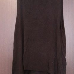 T-shirt with low neckline