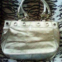 Women's Gold Bag