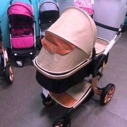 Aimile 2'si 1 arada bebek arabası