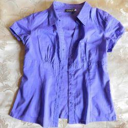 Purple women blouse