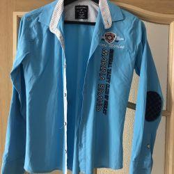 13-14 yaş arası bir genç için gömlek, yükseklik 164