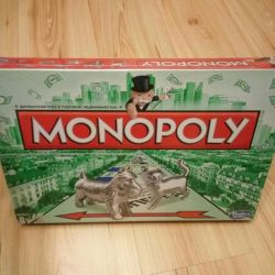 New game Monopoly original from HASBRO
