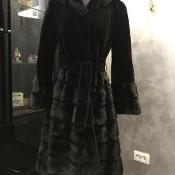 Mink coat 46 r