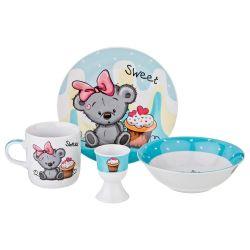 Наборы фарфоровой посуды для детей 4 пр.-новый