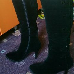 Boots spring-fall (suede)