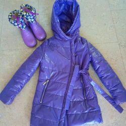 Bir hediye olarak bahar p122 için ceket çizme