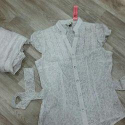 Кофточки блузки новые