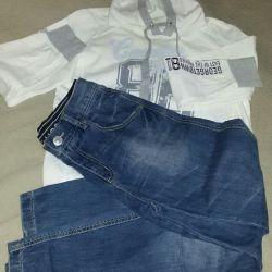 Kot pantolon ve tişörtü s.170-176