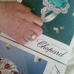 Ασημένιο δαχτυλίδι με ζιργκόνια