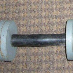 dumbbell 8.5 kg