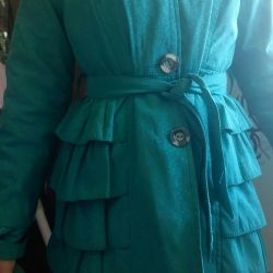 Children's raincoat (turquoise)