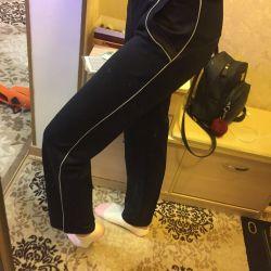 Yüksek yükselişli sweatpants