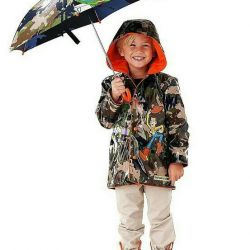 Raincoat raincoat on cotton pad new