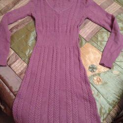 Платье тeплое