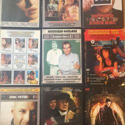 DVD discs: movies, series