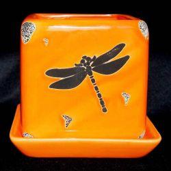 Κεραμικό ανθοπωλείο Antic Dragonfly. Με n
