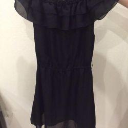 Chiffon Black Dress
