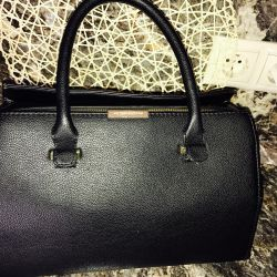 Bag from genuine leather VICTORIA BECKHAM