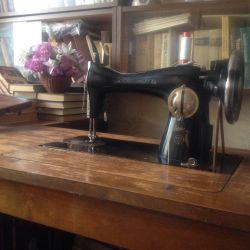Antika dikiş makinası