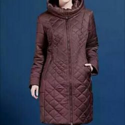 The warmed quilted coat p. 52 new