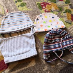 Caps for baby 0-1