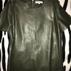 Leather T-shirt ?