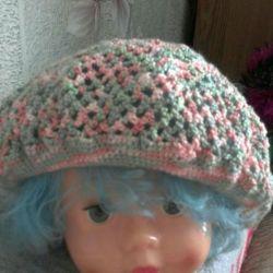 Літні берети і шапочки