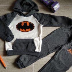 Suit pants and sweater Batman