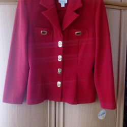 Selling a new, female red jacket