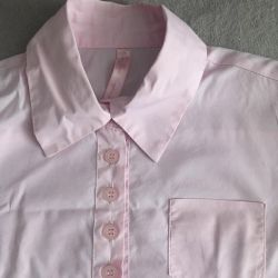 Cotton shirt, 134 cm